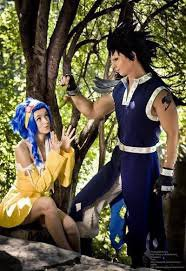 cosplay levy et gajeel