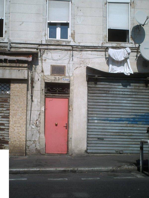Le temps passe et rien ne change les ruelles comme ça sont infinis dans ce triste arrondissement .... (13003) Belle de mai