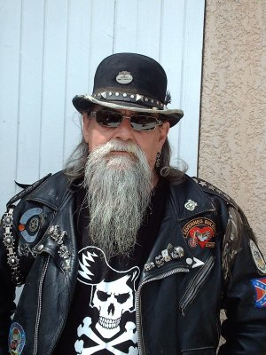 "PAPYNOU "" REBEL BIKER OF THE SOUTH """