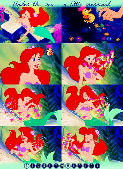 Fiche Personnage : Ariel ❀