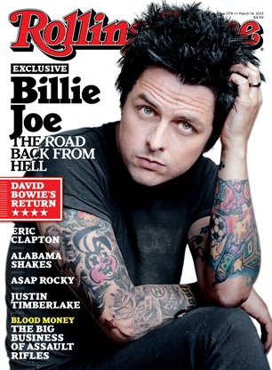Billie Joe In This Month's Rolling Stone
