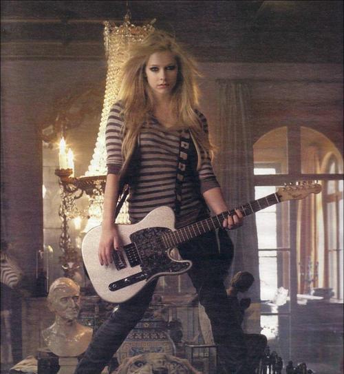 Avril rocks