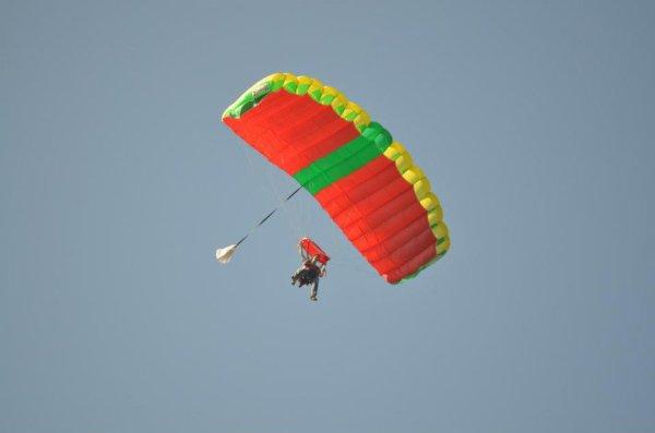 Le parachutisme ? Mon rêve.