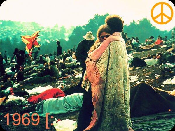 La bonne époque...1969. Le naturel, l'art, la musique, le bonheur.