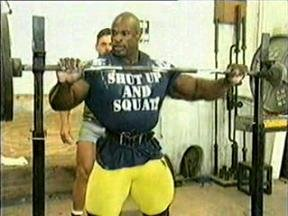 Ronnie Coleman Shut Up And Squat t shirt
