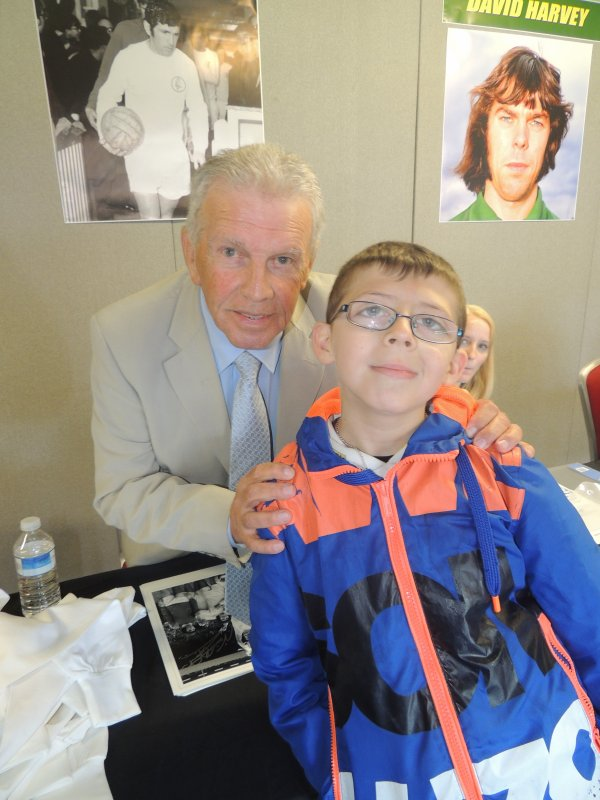Johnny Giles (ex joueur de foot du leeds united)