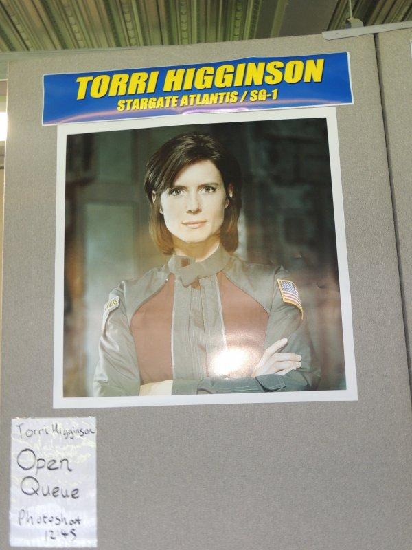 Torri Higginson (stargate)