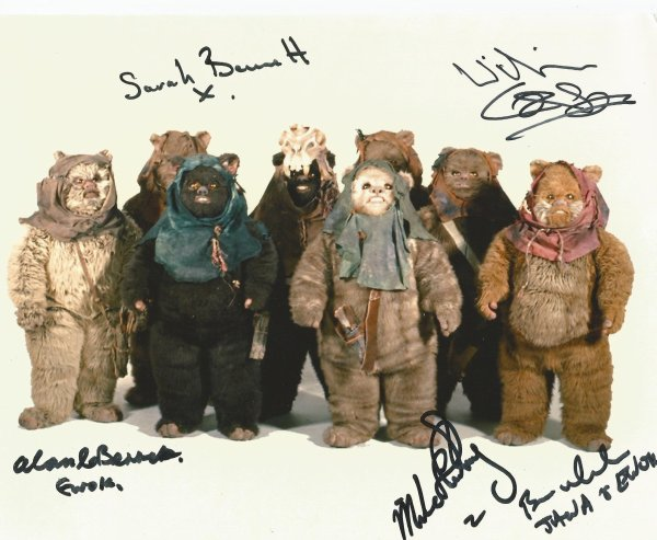 Brian Wheeler - Willie Coppen - Sarah Bennett - Alan Bennett - Micheal Henbury (ewoks - star wars)