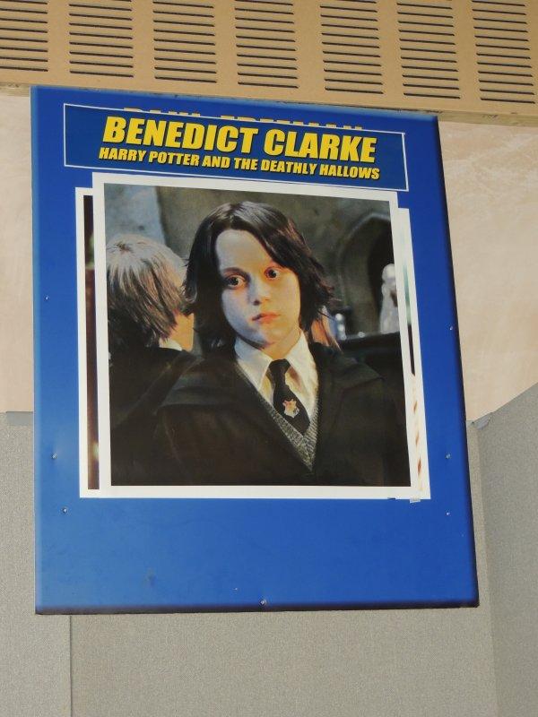 Rohan Gotobed et Benedict Clarke (harry potter)