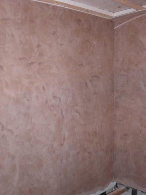 TADELAKT ( Peinture Marocaine) à La Chaux. Couleur Marron Glacé