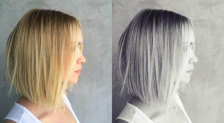 Nouvelle coiffure pour notre Becca