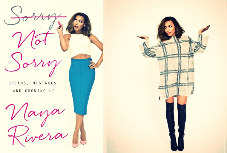 Photoshoot pour le livre de Naya 'Sorry not Sorry'.