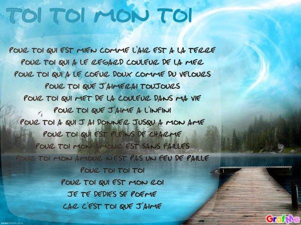 Petit Poeme Que Jai Ecris Pour Lhomme De Ma Vie Michel
