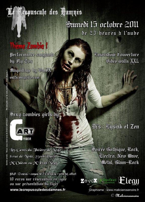 Émission « The Dark Skies » Spécial Zombie sur Dark Skies Radio LE 11 OCTOBRE