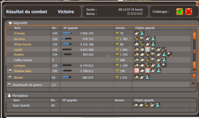 Présentation de la team et premier screen d'xp !