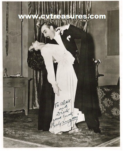 "INCREDIBLY RARE BELA LUGOSI ""DRACULA"" SIGNED PHOTO"