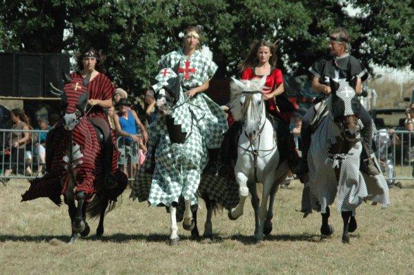 """""""Les cavaliers de la Dronne"""" : la troupe de spectacles équestres du CLUB POINT VERT"""