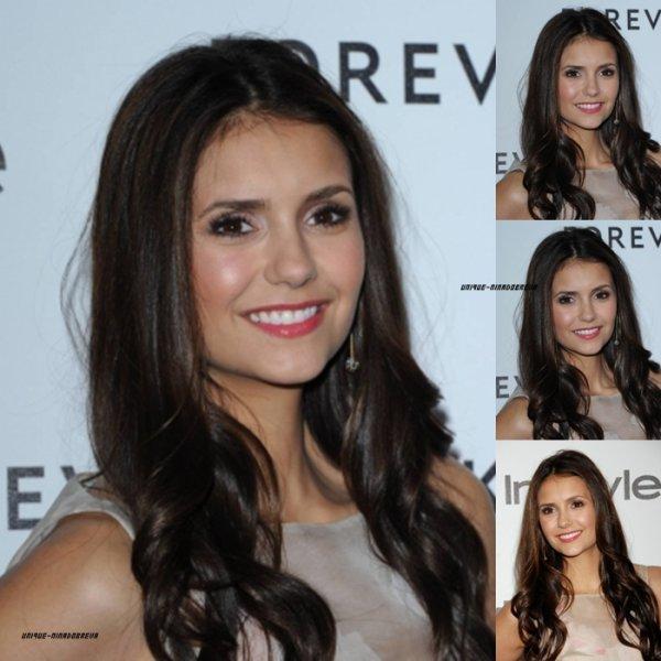 Le 10/01/2012  Nina était presente le 10 Janvier dernier à la soirée Forevermark & InStyle's 2012 Golden Globes Event qui avait lieu à Beverly Hills. Elle etait vraiment Magnifique ! J'aime beaucoup sa coiffure et sa robe .
