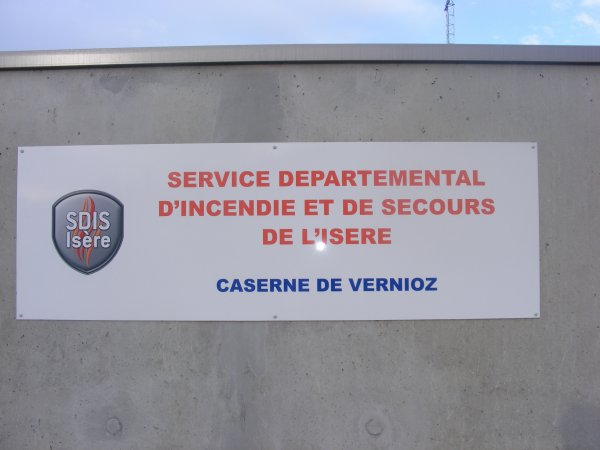 SDIS 38: Caserne de Vernioz