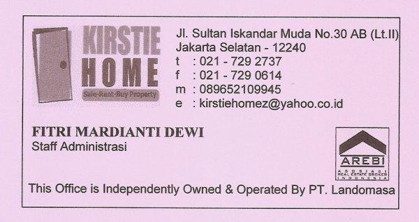 kartu nama kantor