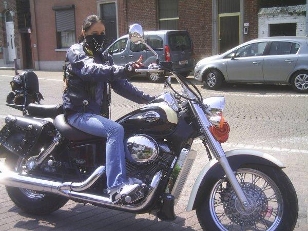 ma fille et ma moto