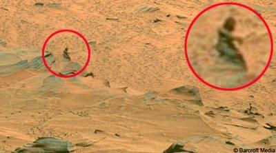 Des Hommes Verts Sur Mars ?
