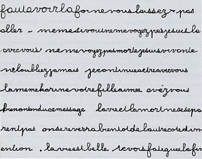 paranormal ecriture automatique