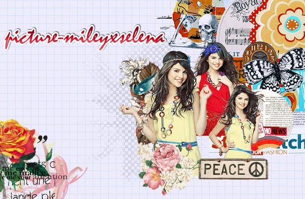 Salut à tous :) Je suis la nouvelle webmiss de picture-MileyxSelena, le blog m'a était confier par la gentille webmiss de DemetriaDemiLovato, le blog sera par contre différent car il devient une source exclusivement sur Selena Gomez :). La webmiss change mais j'espère que votre soutient envers le blog restera le même :).