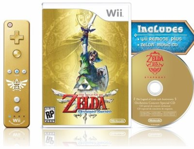 The legend of zelda : Skyward Sword boitier collector