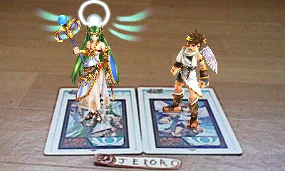 Cartes RA Kid Icarus : Uprising