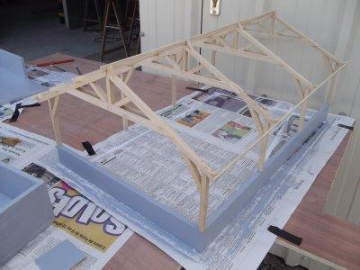 construction du batiment