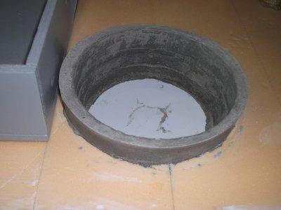 Réalisation d'une fose en beton !