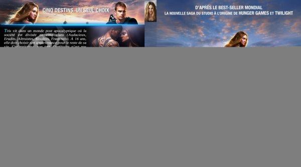Dvd Divergente (la couverture!)