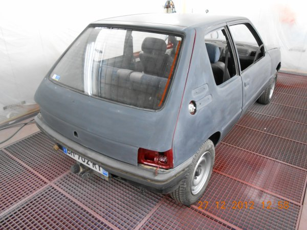 205 TD Sacré Numéro 1995