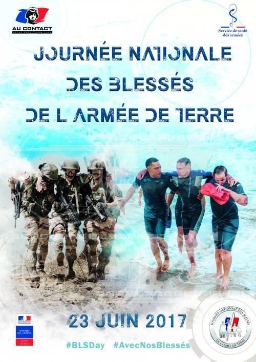 aujourd'hui c'est la journée des blessés de l'armée de terre