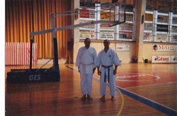 en 1995 quand je pratiqué le karaté