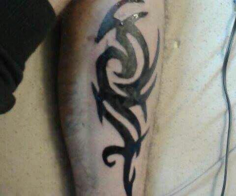 Mon deuxième tatouage :)