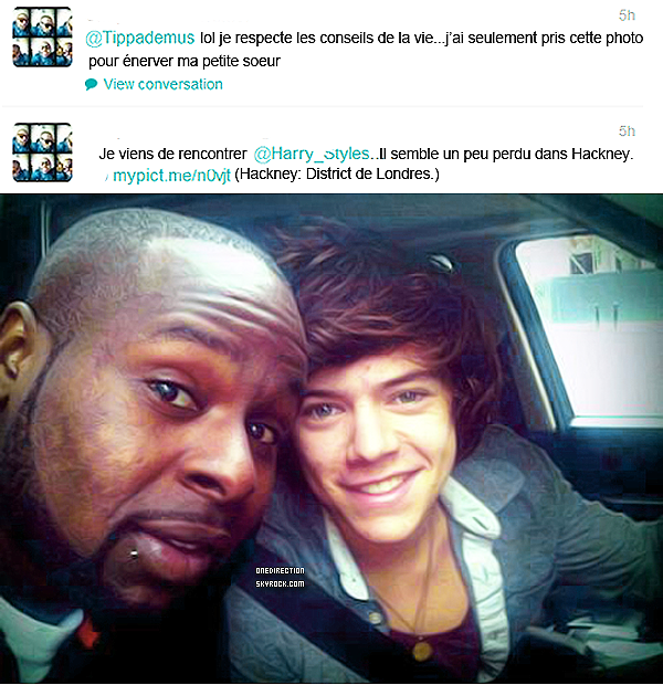 harry perdu a Hackney=D