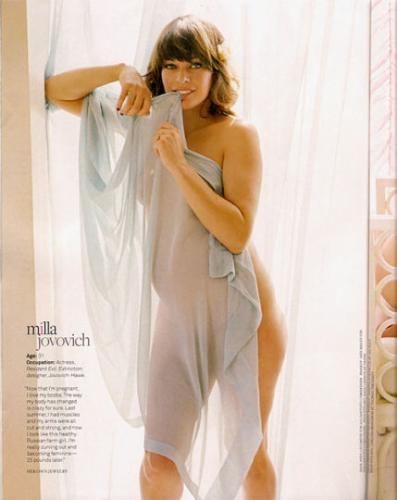 Milla Jovovich est Enceinte!
