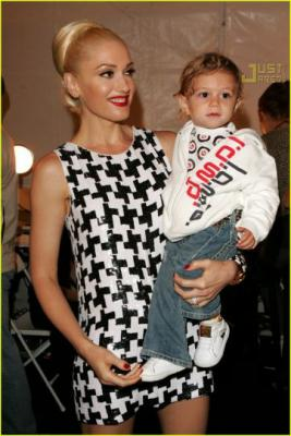 Gwen Stefani et son fils, Kingston!