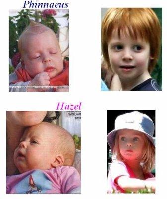 Jumeaux Moder : Phinnaeus & Hazel nés le : 28 Novembre 2004 - Les ...