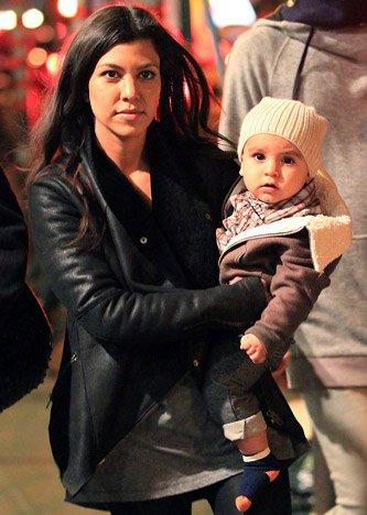 Kourtney Kardashian et son fils Mason!