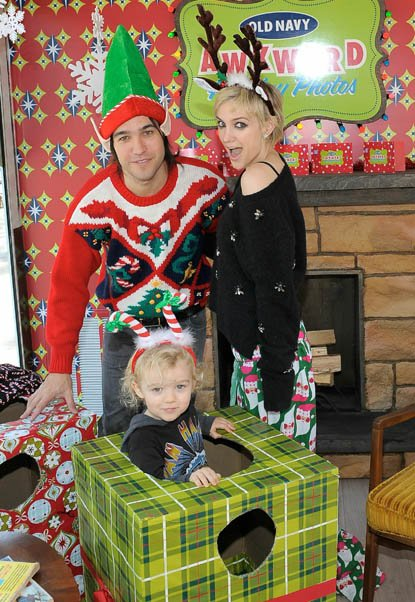 Famille Simpson-Wentz, Ashlee, Pete & Bronx, version Noël!