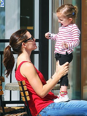 Jennifer Garner et sa fille Séraphina!