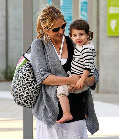 Sarah Michelle Gellar et sa fille Charlotte !!