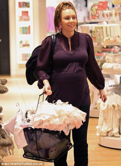 Michelle Heaton enceinte de 7 mois !!