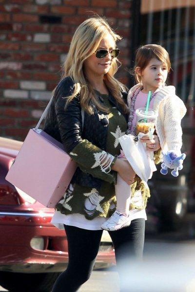Sarah Michelle Gellar et sa fille Charlotte, 2 ans !!