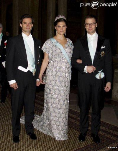 Princesse Victoria de Suède enceinte de 5 mois et demi !!