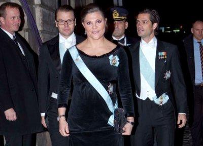 La Princesse Héritière Victoria de Suède !