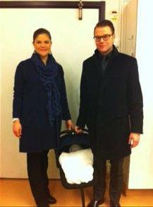 Présentation de la Princesse Estelle de Suède !!